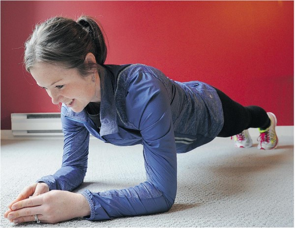 strengthen abs, planking