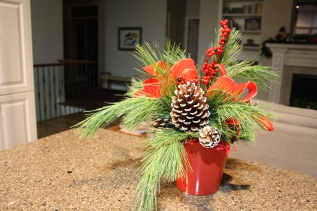 Celebrate the winter solstice with greenery