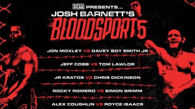 Image result for bloodsport 5 gcw