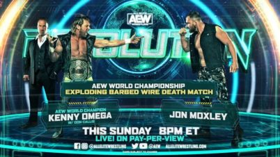 Kenny Omega reveals rules for the Exploding Barbed-Wire Death Match