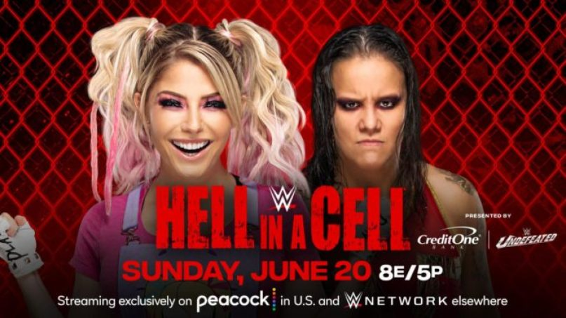 Alexa Bliss vs. Shayna Baszler added to WWE Hell In A Cell