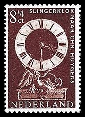NVPH 768 - Zomerzegel 1962 - Slingerklok