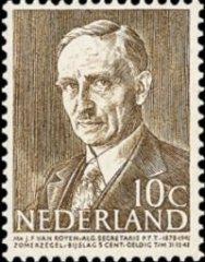 NVPH 493 - Mr. J.F. van Royen