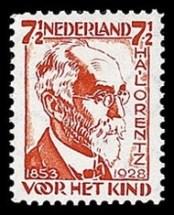 NVPH 222 - kinderzegel 1928