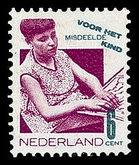 NVPH 242 - Kinderzegel 1931