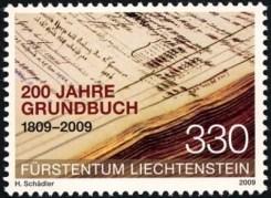 200-jaar-grondwet-liechtenstein-2009-postzegel