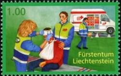 vrijwilligers-werk-postzegel-2009-liechtenstein
