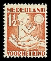 NVPH 232 - kinderzegel 1930