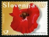 papaver_bloem_slovenie_postzegel_2009