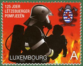 brandweerman_luxemburg_postzegel_2009