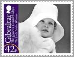 gibraltar_koningshuis_postzegel_baby