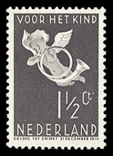 NVPH 289 - Kinderzegel 1936