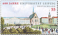 universiteit-leipzig-postzegel-2009