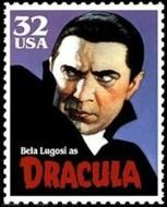 3 postzegel Dracula Verenigde Staten 1997