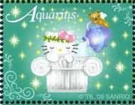 9 postzegel Waterman Singapore 2009