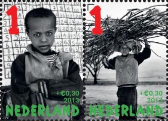 Kinderpostzegels 2013 - bovenste postzegelpaar