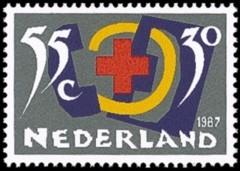 NVPH 1381 - Rode Kruis