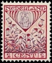 NVPH 208 - kinderzegel 1927