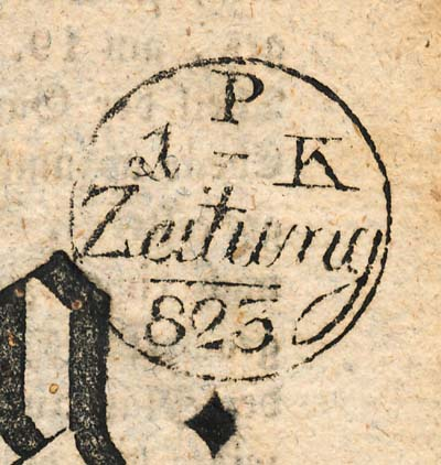 Zeitung 825