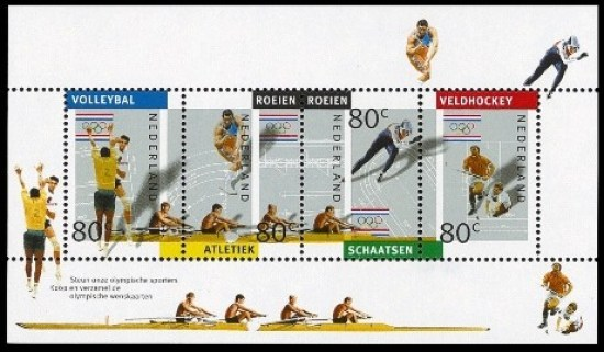 NVPH 1517 - Olympische Spelen 1992