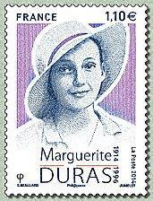Marguerite_Duras_postzegel