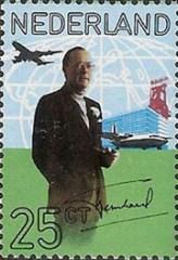 NVPH 994 - 60e verjaardag prins Bernhard