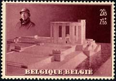 België blok 8 los zegel