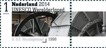 NVPH 3214 - Unesco Werelderfgoed - Woudagemaal