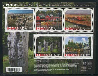 Wereld Erfgoed postzegels