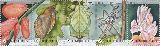 Postzegels België 2015 Plant of Dier 11 mei