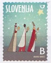drie heiligen postzegel