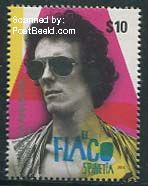 El Flaco Spinetta postzegel Argentinië