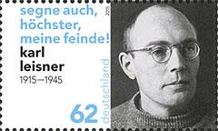 Karl Leisner postzegel Duitsland 2015