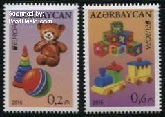 Europazegels Azerbeidzjan