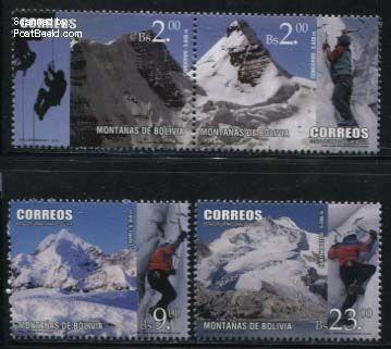 Postzegel Bolivia 2014