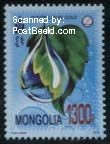 Mongolië postzegel 2015