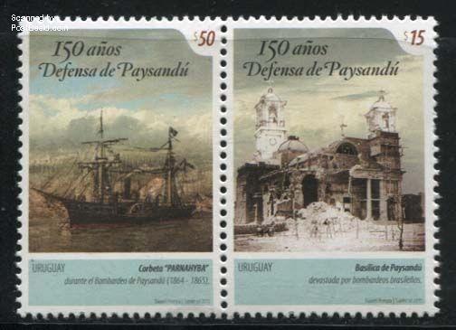 Postzegels Uruguay 2015