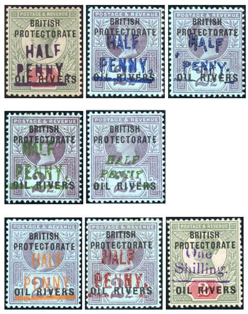 postzegel Oil River