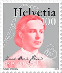 Marie Heim-Vögtlin postzegel