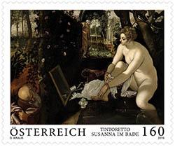 Jacopo Tintoretto postzegel