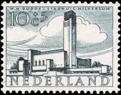 NVPH 658 - Zomerzegel - Stadhuis Hilversum