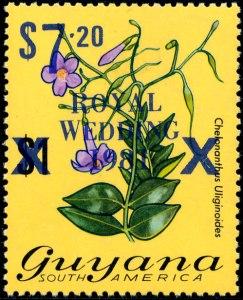 Guyana Mi 617 blauw