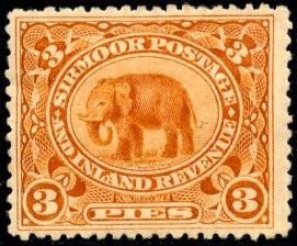 Sirmoor olifant 3 Pies olifant