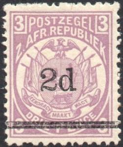 Transvaal Mi 30 a