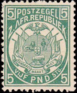 Transvaal vervalsing letter A