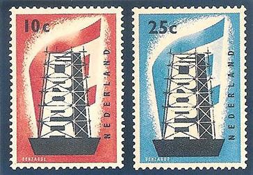 Eerste Europazegels