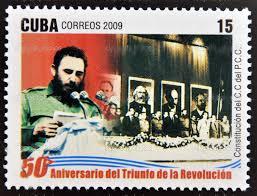 Fidel Castro tijdens één van zijn legendarisch lange toespraken.