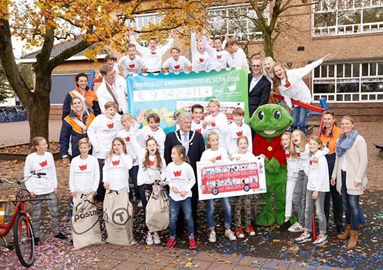 Groep 8 van de Utrechtse Schoolvereniging