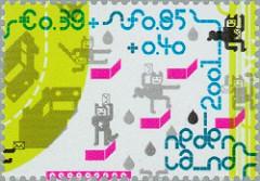NVPH 2013c - Kinderzegels 2001