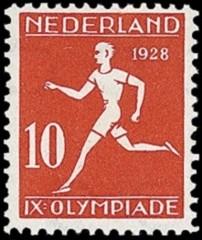 NVPH 217 - Olympiade Amsterdam